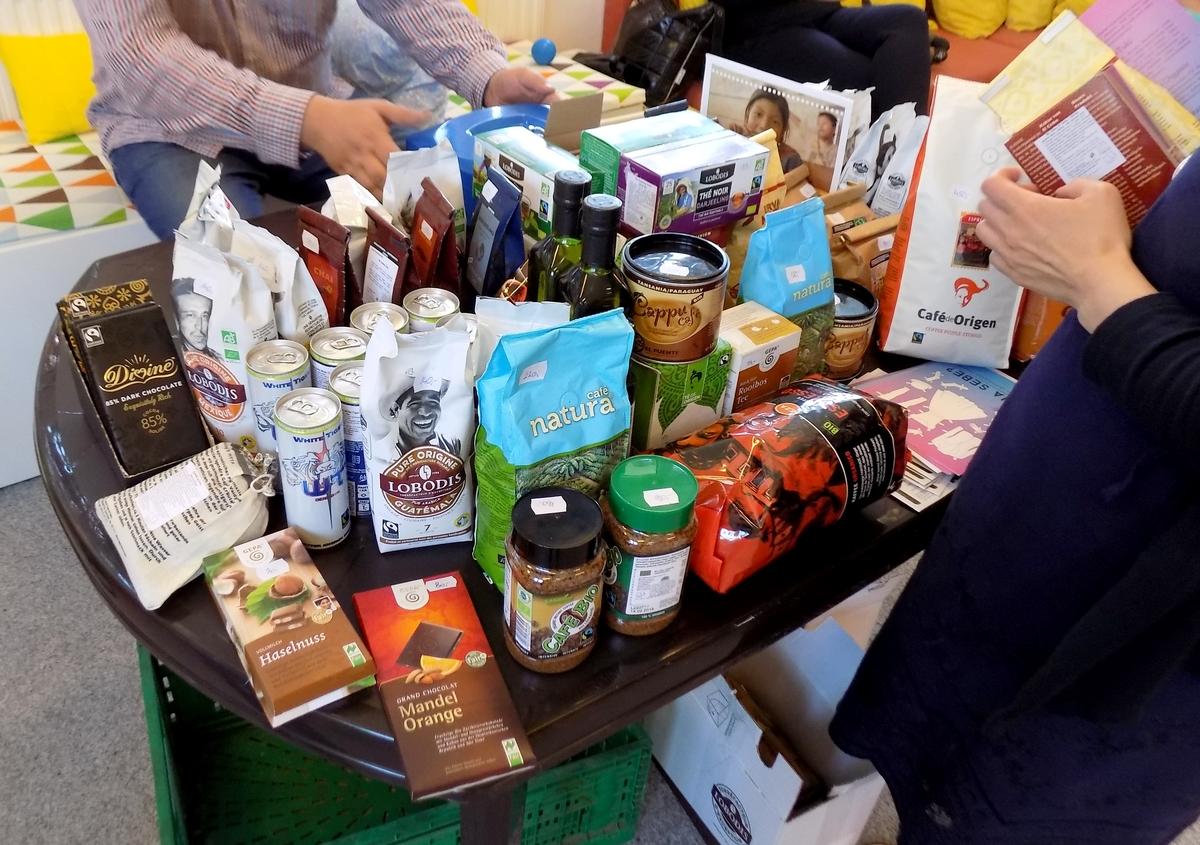 Prezentace a prodej Fair Trade 2